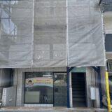 神戸御影店の建物が外壁改修工事を行っております